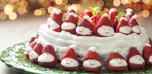 receita bolo gelado para o natal