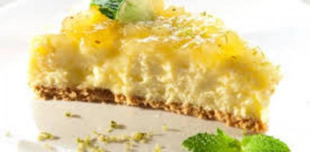 receita cheesecae de abacaxi