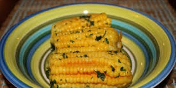 receita milho com manteiga temperada