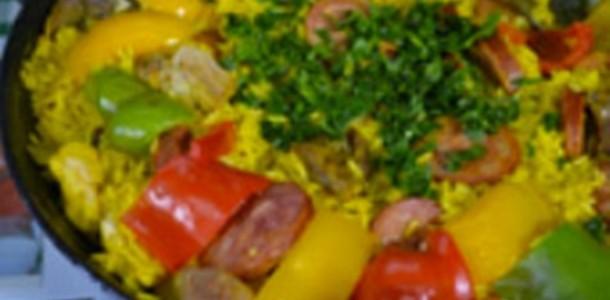 receita paella gaúcha