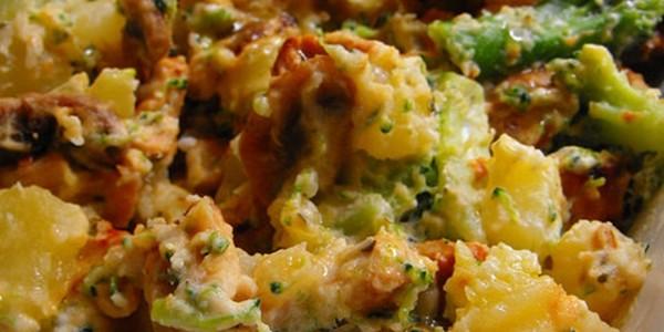Receita Salada de Batata com Peru