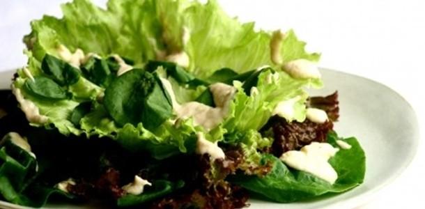 receita salada mista completa