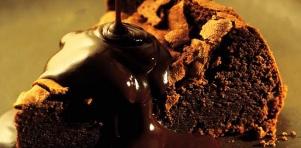 receita torta cremosa de chocolate
