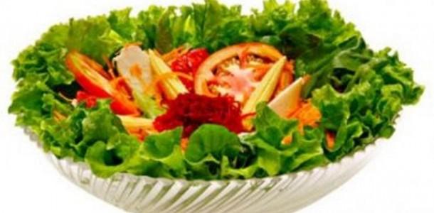 Salada Maçã Cenoura e Repolho