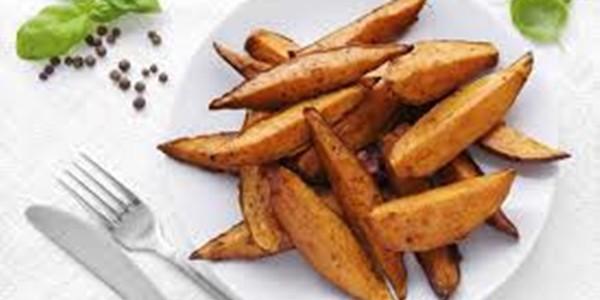 receita batata doce assada