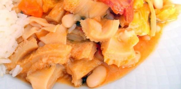 receita dobrada com feijão branco