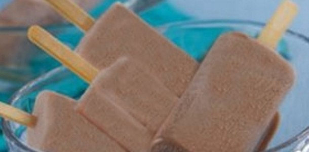 Receita Picolé de Chocolate