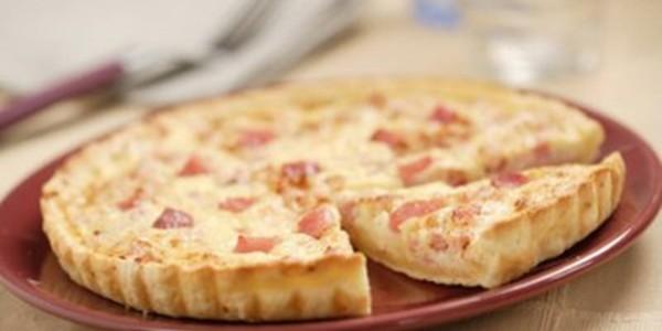 receita quiche de bacon