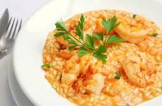 receita risoto de camarão simples