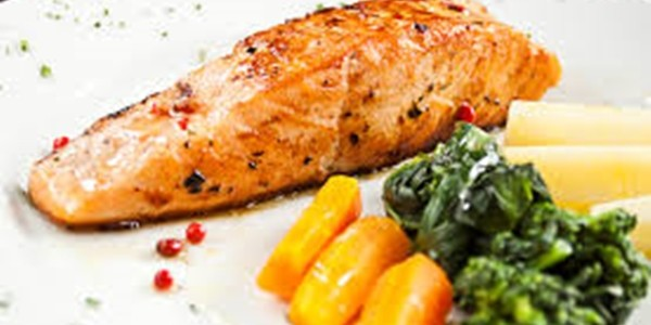 receita salmão grelhado