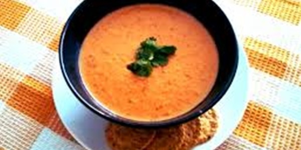 receita sopa de tomate cremosa