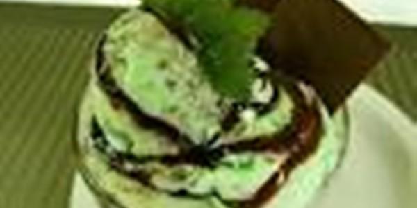 receita sorvete de menta com chocolate