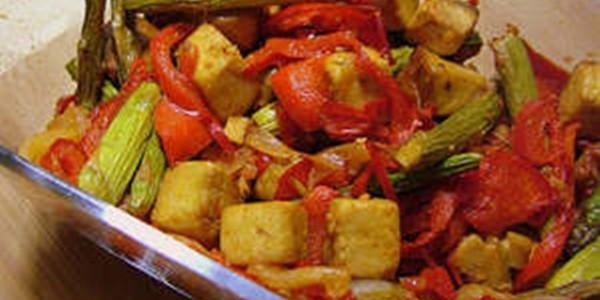 Receita Tofu Salteado com Ervas