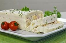 Receita Torta Fria de Queijo e Presunto