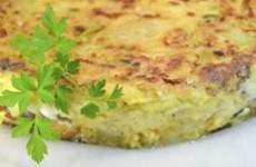 Receita Tortilha de Batata Doce e Espinafre