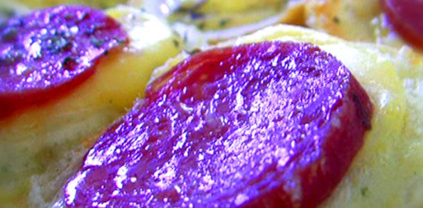 Bruscheta de Salame