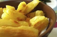 Mandioca Frita ao Forno
