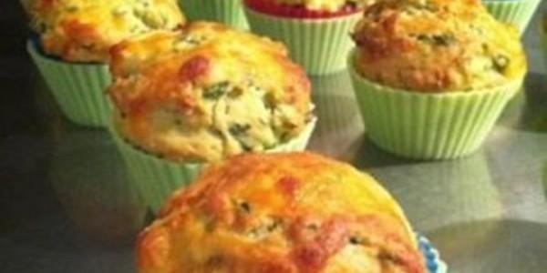 Receita Muffin de Brócolis