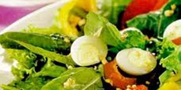 Receita Salada Colorida