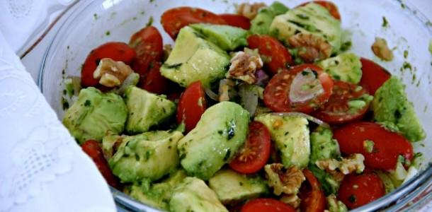 Receita Salada de Abacate Divina