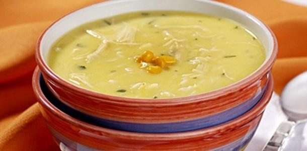 Sopa de Frango com Batata Doce