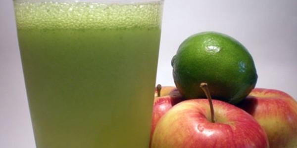 Suco de Limão com Maçã