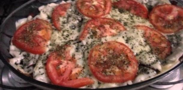 Receita Macarrão sabor Pizza