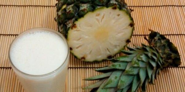 Receita Vitamina de Abacaxi