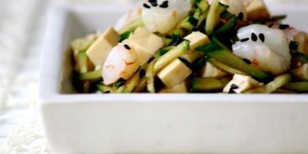 Sadala de Camarão com Tofu