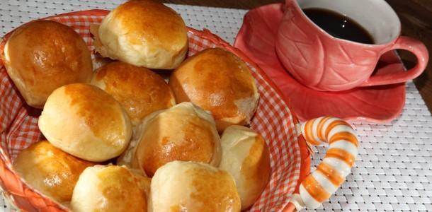 Pão Recheado com Curry e Bacon