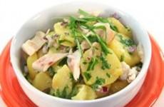 Salada de Batata com Alho