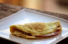 Omelete de Tapioca