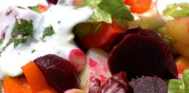Salada Quente