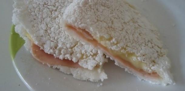 tapioca de presunto e queijo