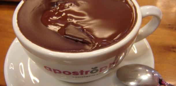 chocolate quente especial