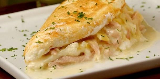 omelete rápido