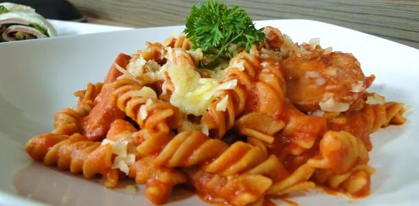 Macarrão com molho de tomate