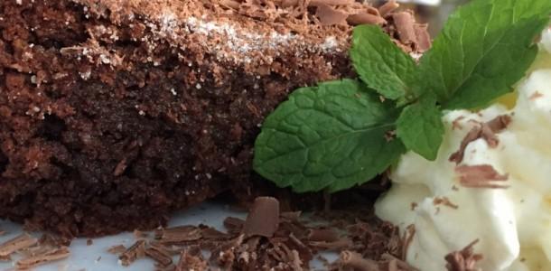 bolo de chocolate prático