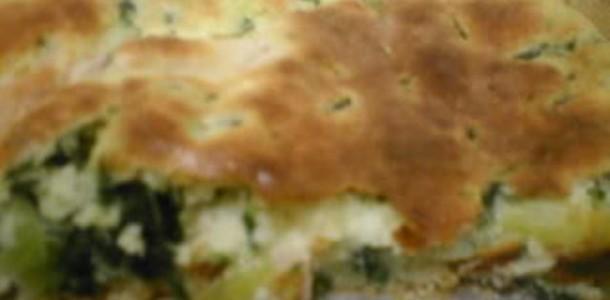 bolo de espinafre