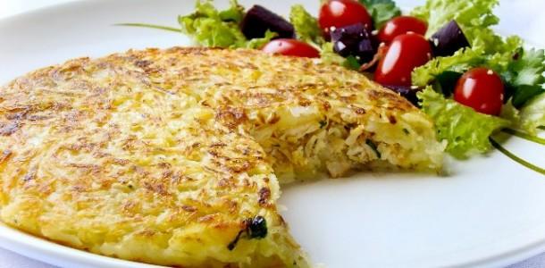 Batata rosti com queijo