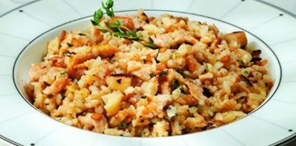 risoto de chester