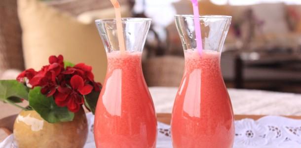 suco de frutas fácil