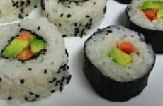 sushi de legumes