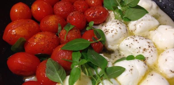 Tomatinho com Mussarela de Búfala