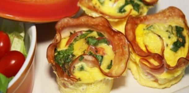 Trouxinhas de Omelete para Microondas