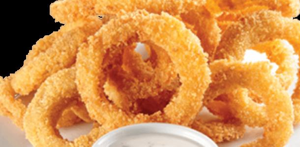 anel de cebola frito falso