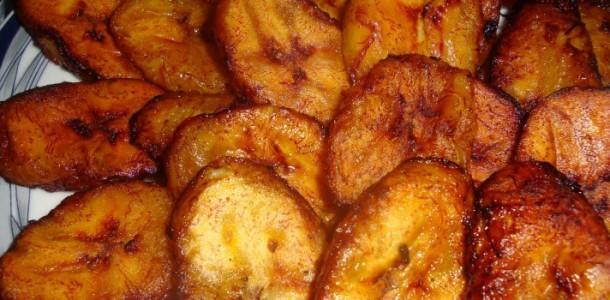 banana frita ao leite condensado