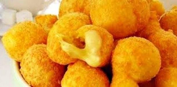 bolinho frito vegano