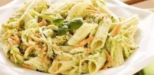 Salada Fria com Massa Penne