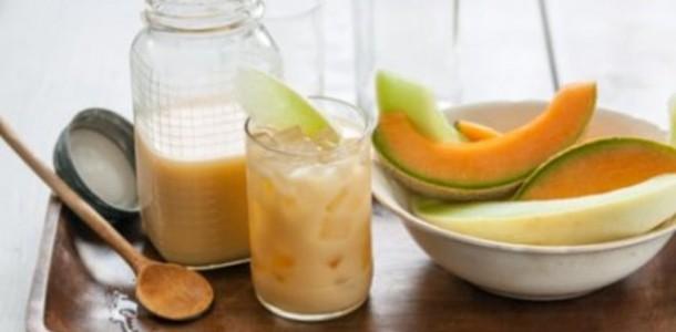 Suco de Melão e Gengibre